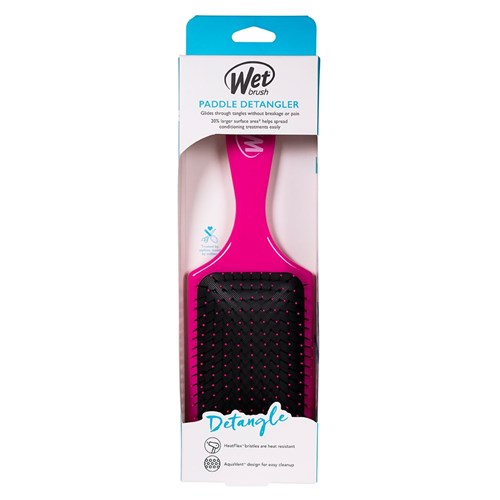 WetBrush Pro Paddle Detangler Hair Brush Pink