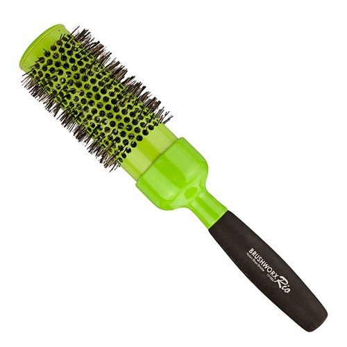 Brushworx Rio Green X-Large Ceramic Hot Tube Hair Brush