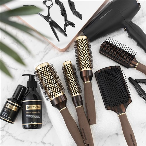 Brushworx Brazilian Bronze Paddle Hair Brush