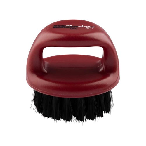 BaBylissPRO Barberology Fade Knuckle Brush Red