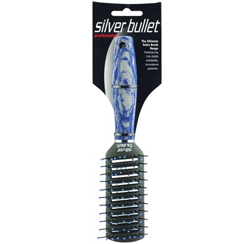 Silver Bullet Blue Series Tunnel Vent Hair Brush