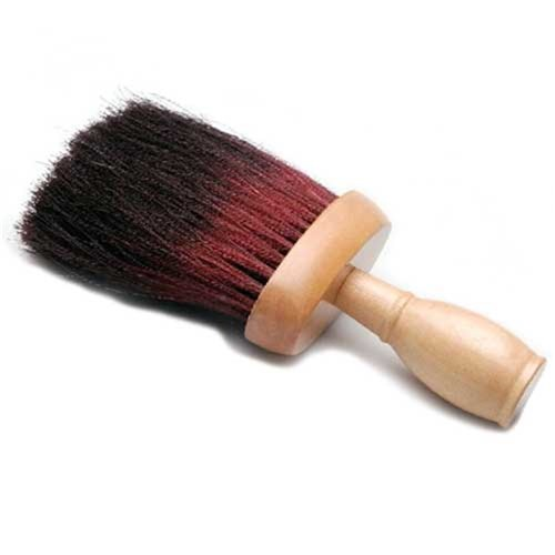 Dateline Professional Neck Brush Black and Red