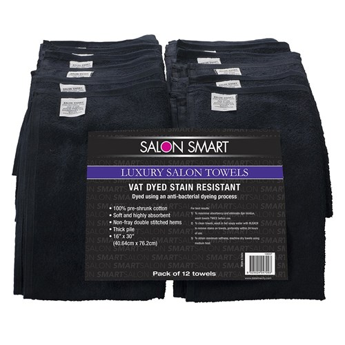 Salon Smart Luxury Towels 12pk