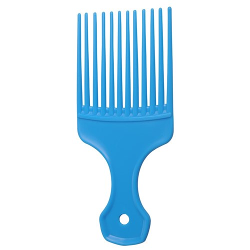 Salon Smart Afro Hair Comb, Blue