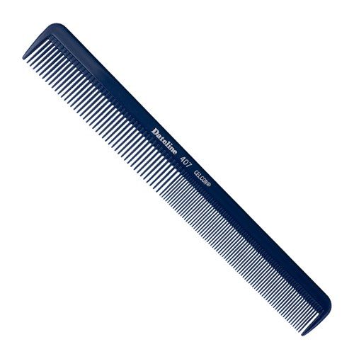 Dateline Professional Blue Celcon 407 Styling Comb 21.5cm