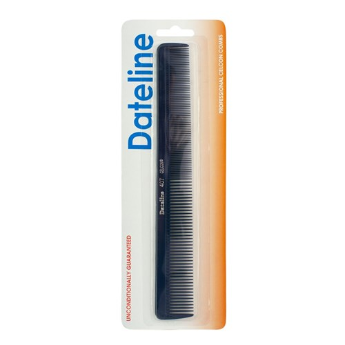 Dateline Professional Blue Celcon 407 Styling Comb