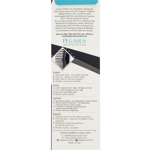 Pegasus 201 Cutting Comb Package