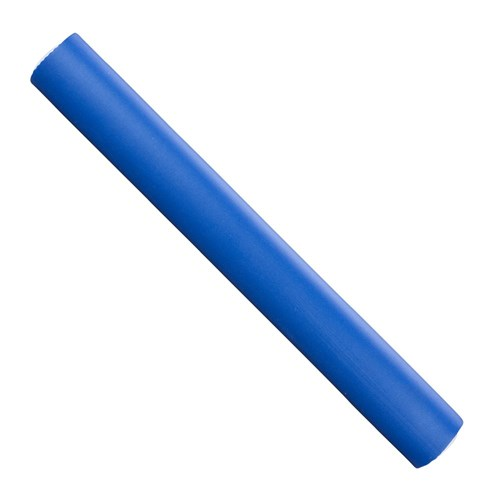 Hair FX Extra Large Flexible Rollers - Blue, 3pk