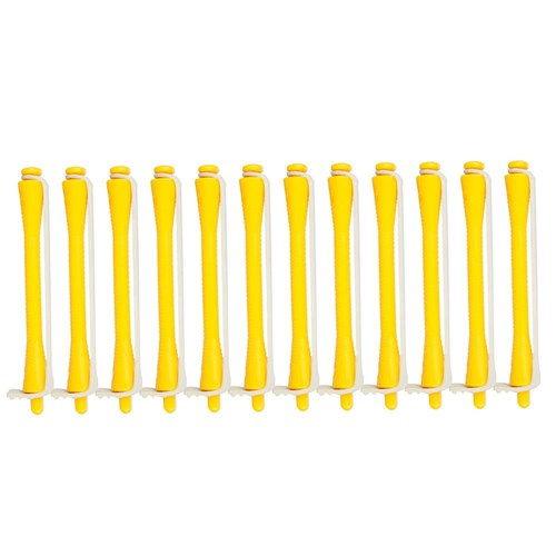 Dateline Professional Standard Perm Rods, 12pk - Yellow