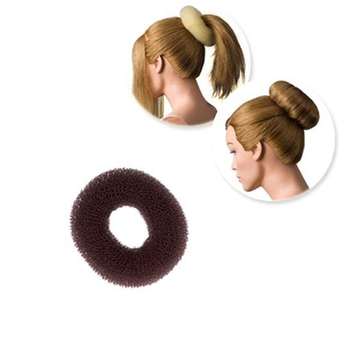 Dress Me Up Hair Donut Brown - Small, Regular