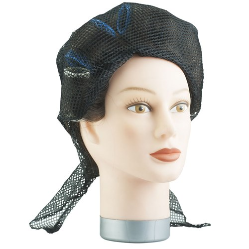 Dress Me Up Network Triangular Setting Hair Net Black