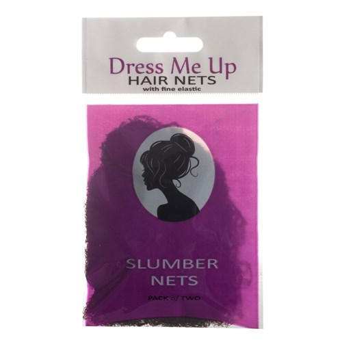 Dress Me Up Slumber Hair Net Dark Brown