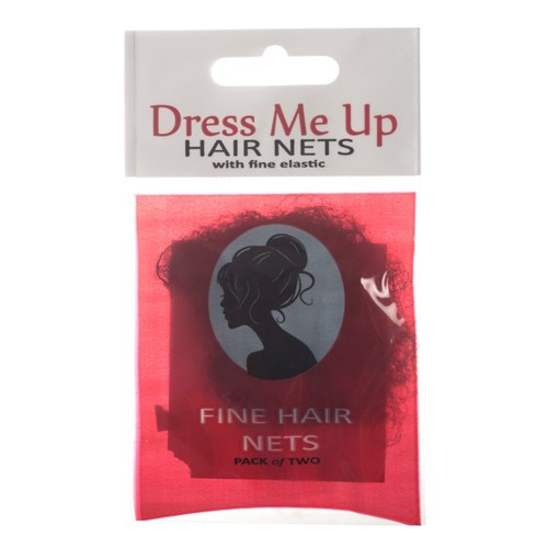 Dress Me Up Fine Hair Net Black