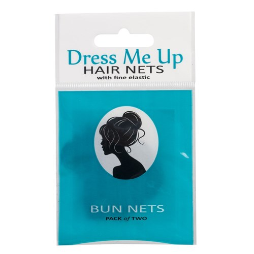 Dress Me Up Bun Hair Net Black