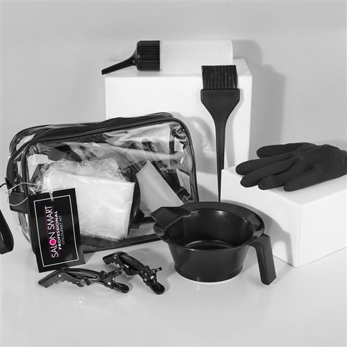 Salon Smart Hair Colourist Kit Black