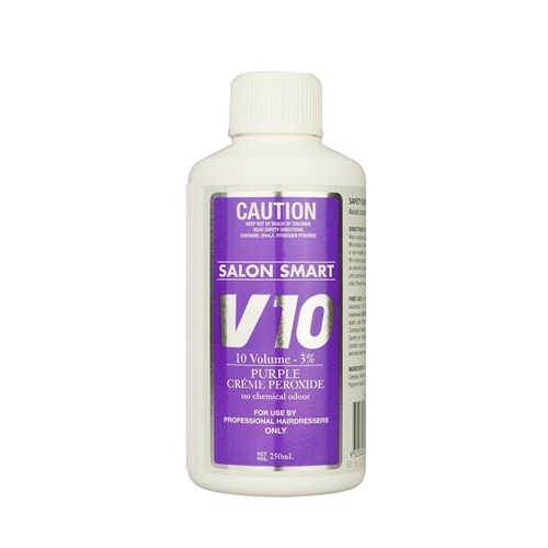 Salon Smart Purple Hair Peroxide, Volume 10, 250mL