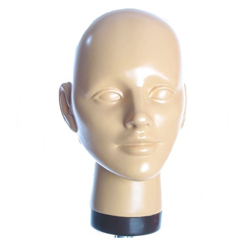 Dateline Professional Unisex Hairdressing Mannequin Head Form