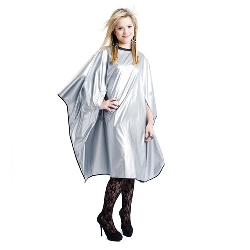 Elektra Cover Me Styling Cape - Silver