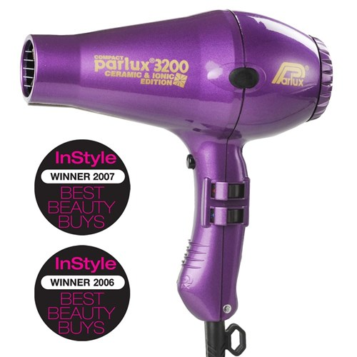 Parlux 3200 Ionic Ceramic Compact Hair Dryer Purple