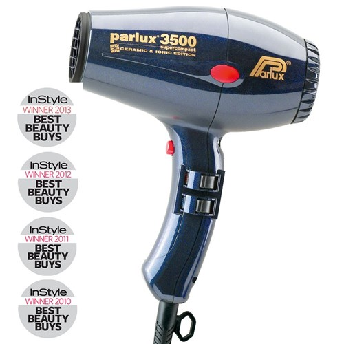 Parlux 3500 SuperCompact Ceramic Ionic Hair Dryer Blue