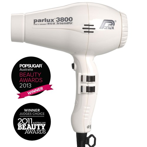 Parlux 3800 Ionic Ceramic Hair Dryer White