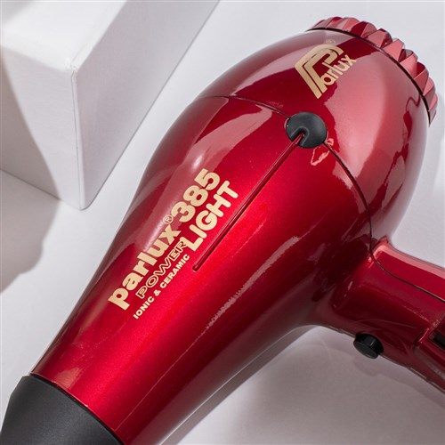 Parlux 385 Hair Dryer Red