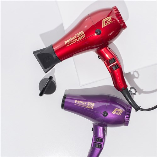 Parlux 385 Power Light Ceramic Ionic Hair Dryer Violet