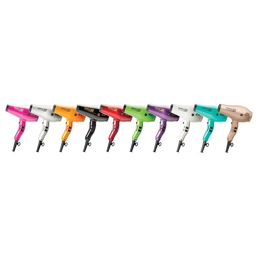 Parlux 385 Power Light Ceramic Ionic Hair Dryer Silver