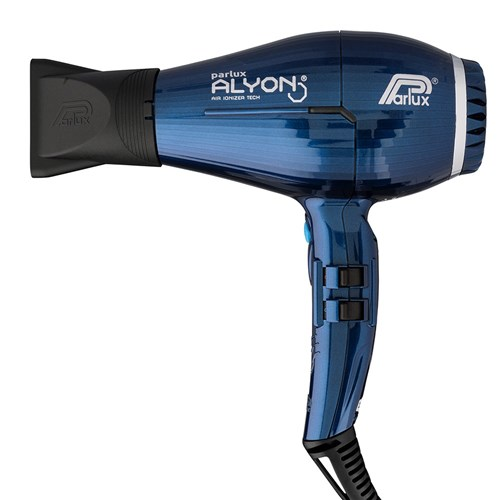 Parlux Alyon Air Ionizer Tech Hair Dryer And Diffuser Midnight Blue