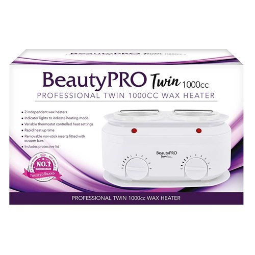 BeautyPRO Twin 1000cc Professional Wax Heater