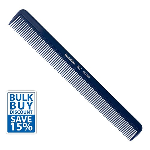 Dateline Professional Bulk Buy Blue Celcon 407 Styling Comb 6pk