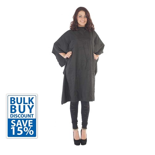 Salon Smart Bulk Buy Surround Me All Purpose Cape Black 3pk