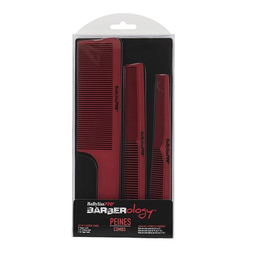 BaBylissPRO Barberology Barbers Combs Package