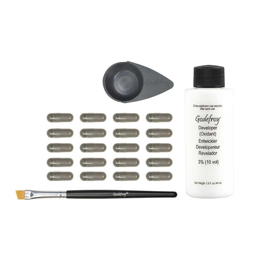 Godefroy Spot Colouring Tint Kit Dark Brown
