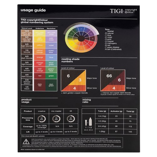 TIGI Copyright Colour Mix Master 00. Clear