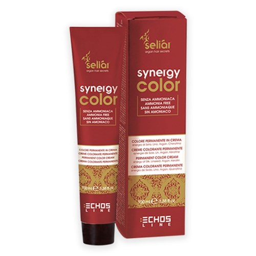 Echos Synergy Color Hair Colour 7.46 Copper Red Blonde