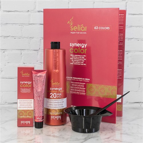 Echos Synergy Color Hair Colour 5.66 Extra Red Light Chestnut