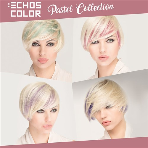 Echos Color Hair Colour 8.02 Pastel Light Blonde Violet